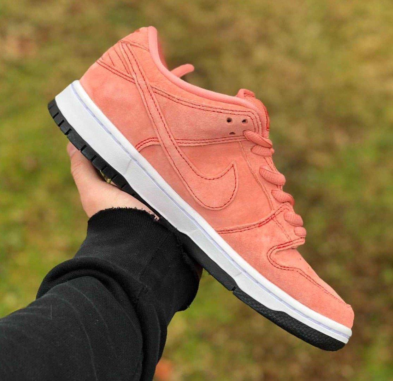 Nike SB Dunk Low Atomic Pink Pig CV1655-600 Release Info