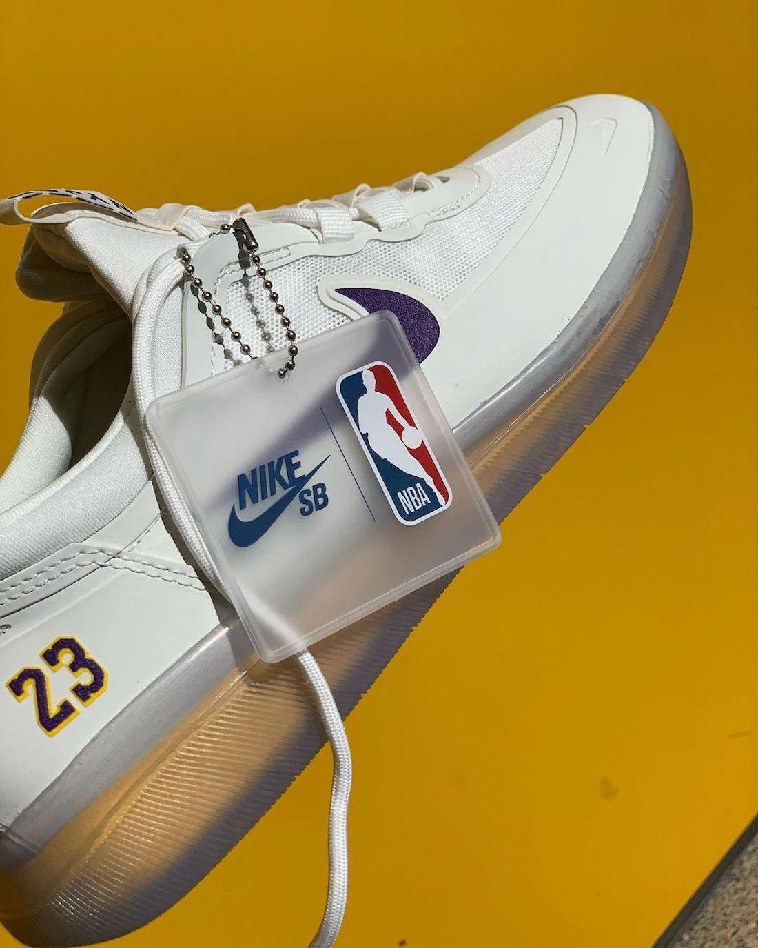 Nike SB Nyjah Free 2 Lakers Release Date Info