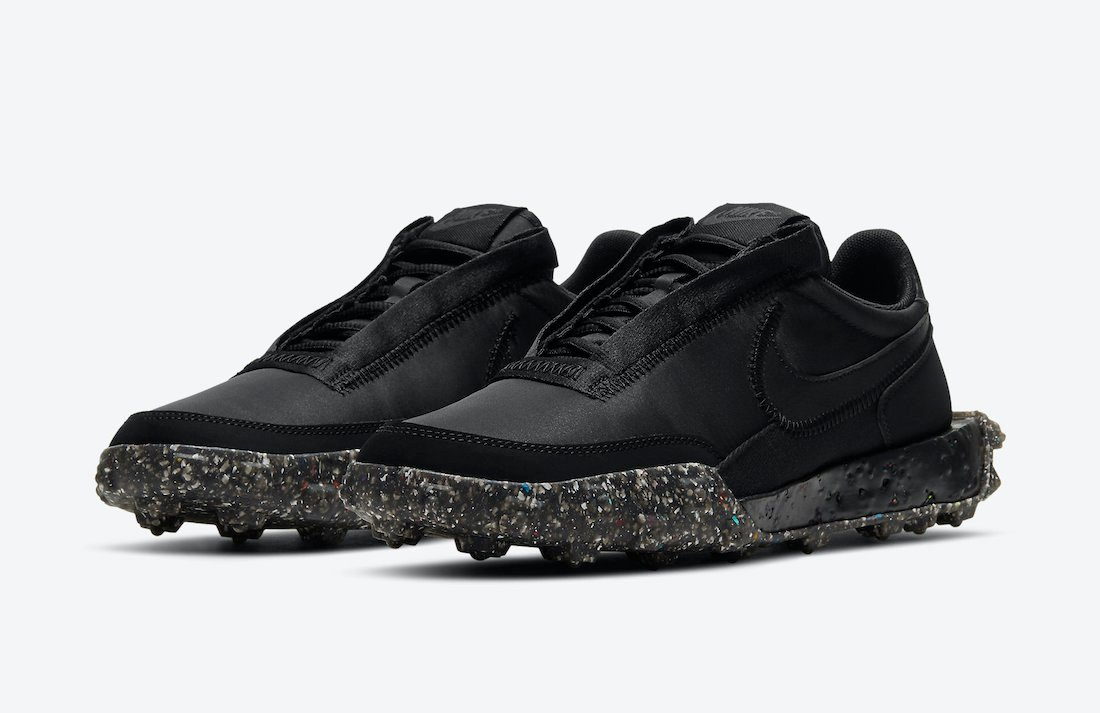 Nike Waffle Racer Crater Black DD2866-001 Release Date Info