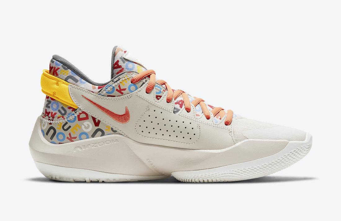 Nike Zoom Freak 2 Alphabet Soup CW3162-001 Release Date Info