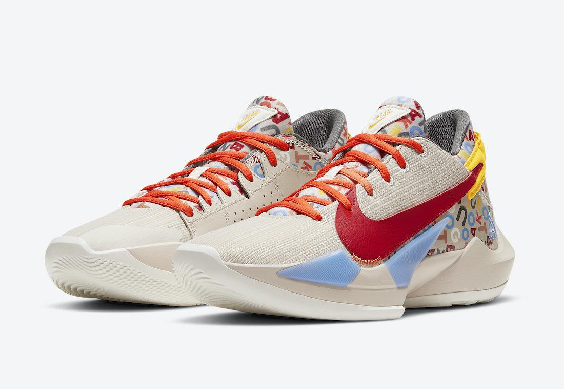 Nike Zoom Freak 2 Letter Bro CW3162-001 Release Date Info