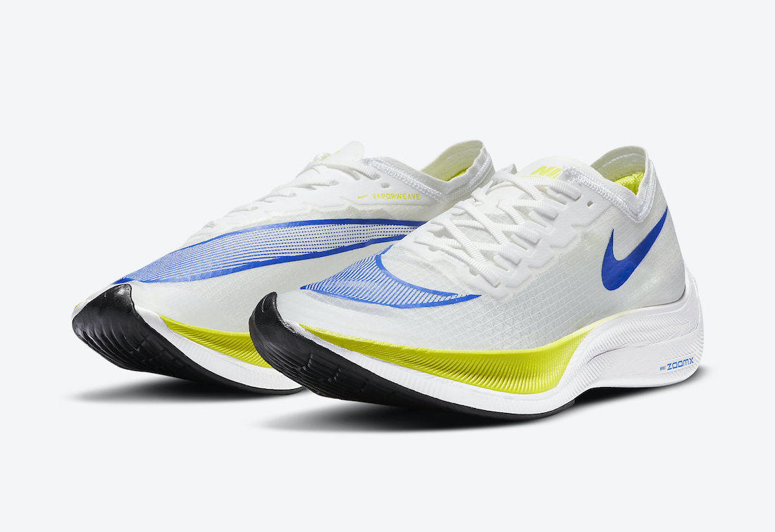 Nike ZoomX VaporFly NEXT% White Cyber AO4568-103 Release Date Info