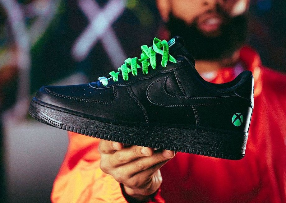OBJ Xbox Nike Air Force 1 Power Your Dreams