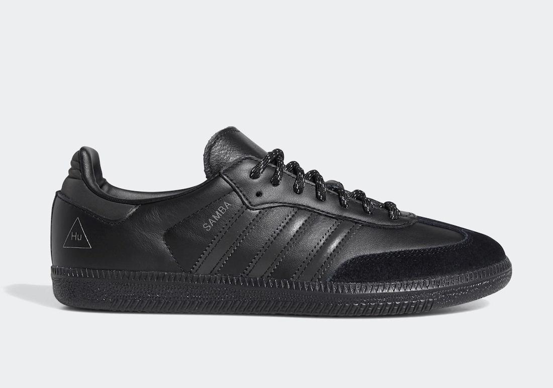 Pharrell adidas Samba Black GY4978 Release Date Info