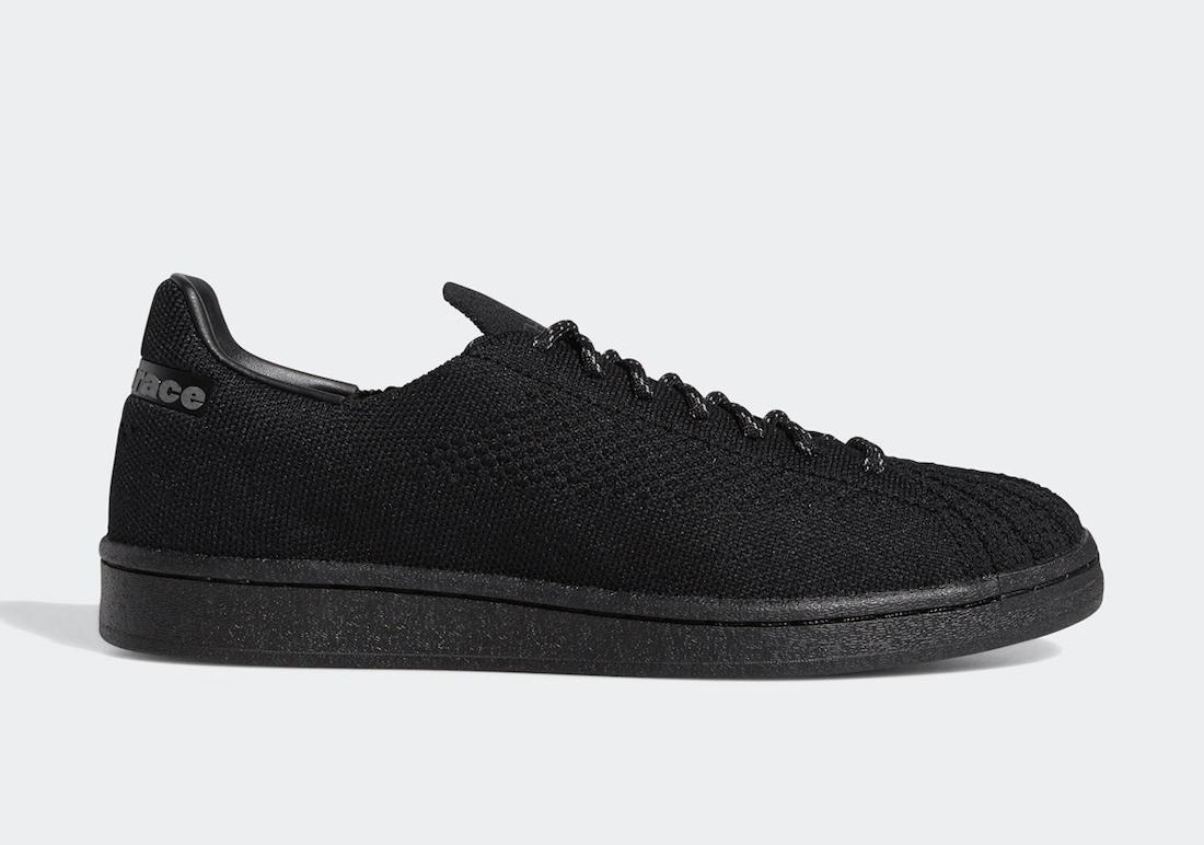 Pharrell adidas Superstar Primeknit Black GX2482 Release Date Info