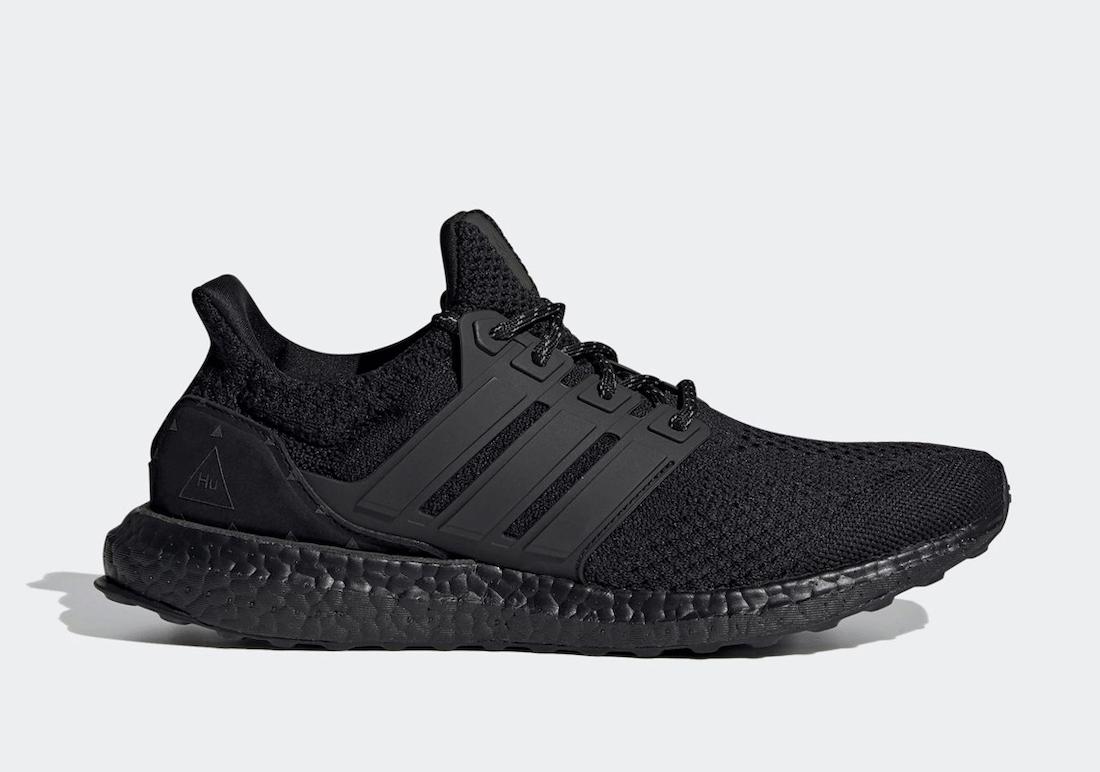 Pharrell adidas Ultra Boost Black H01893 Release Date Info