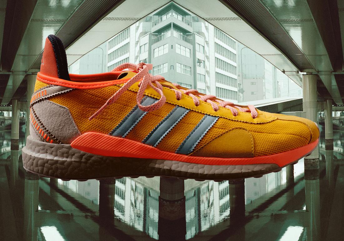 Pharrell Nigo adidas Tokio Solar Hu Orange Release Date Info