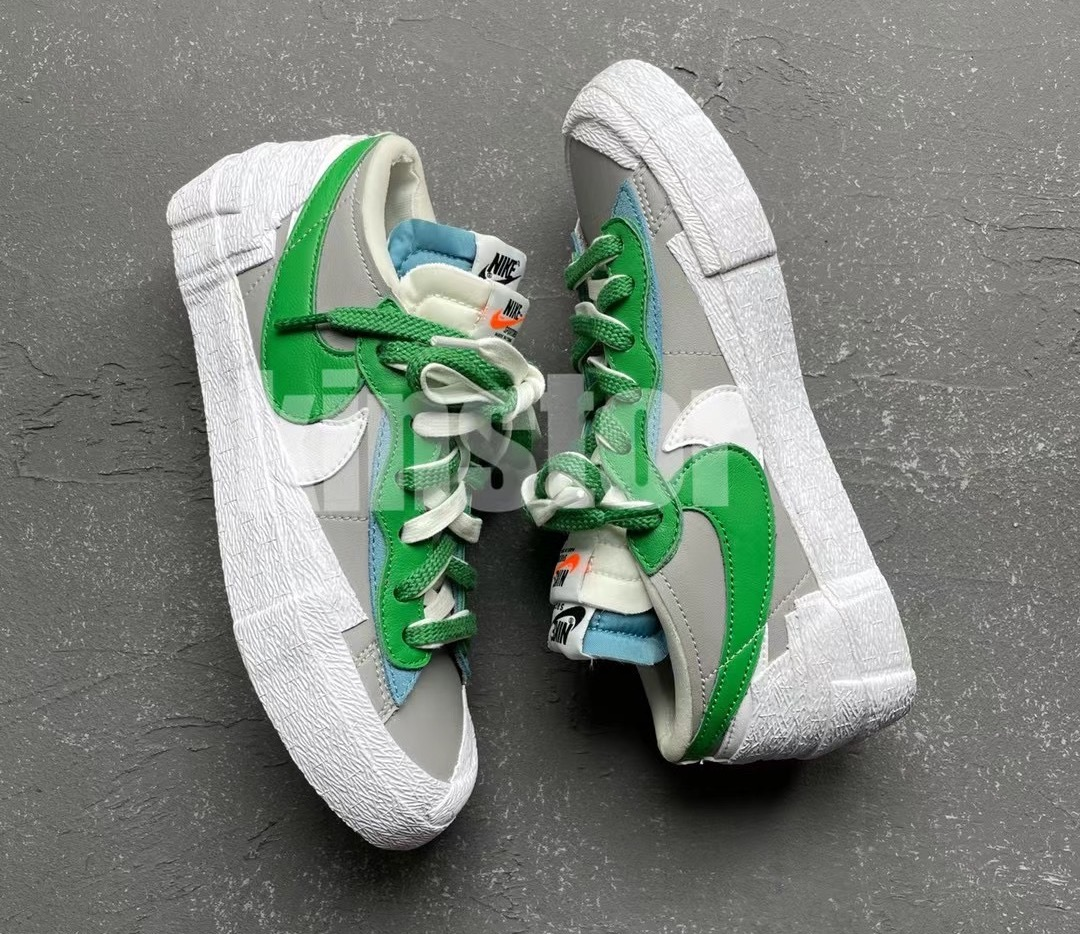 Sacai Nike Blazer Low Medium Grey Classic Grey DD1877-001 Release Date Info