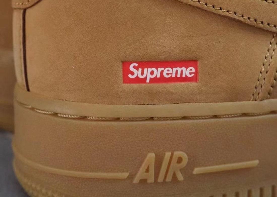 Supreme Nike Air Force 1 Low Flax