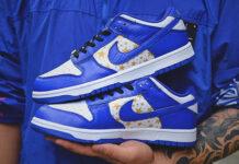 Supreme Nike SB Dunk Low Hyper Blue DH3228-102 Release