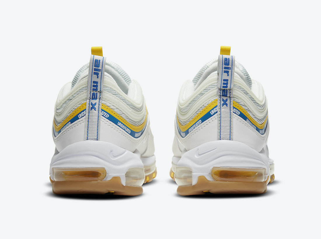 Undefeated Nike Air Max 97 Sail DC4830-100 Release Date