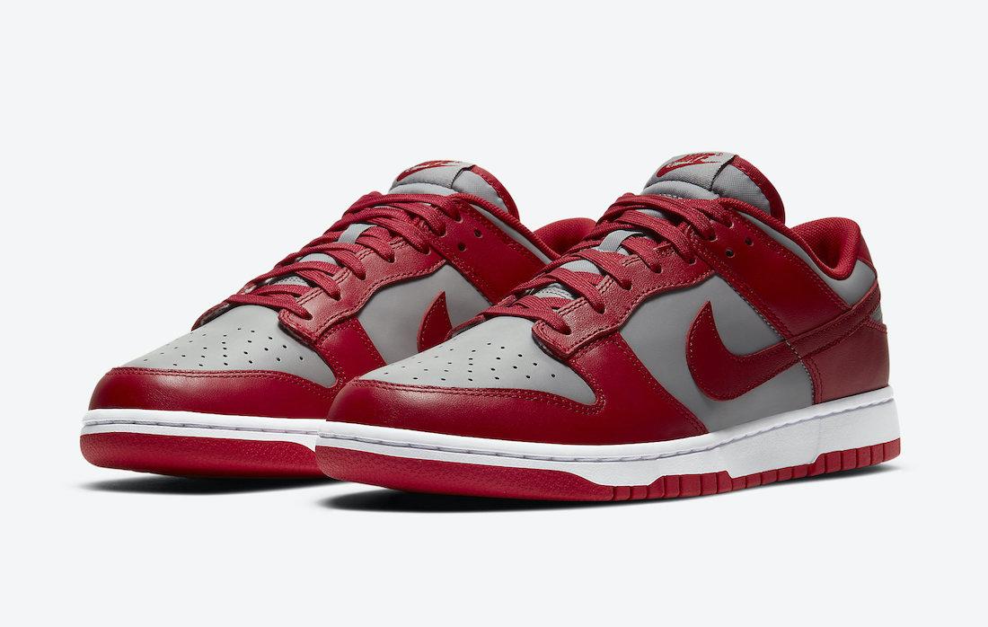 UNLV Nike Dunk Low DD1391-002 Release Info Price