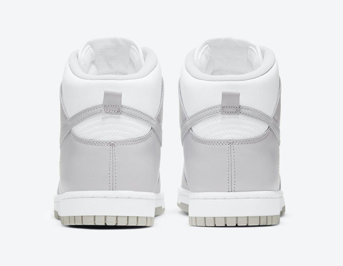 Vast Grey Nike Dunk High DD1399-100 Release Info Price