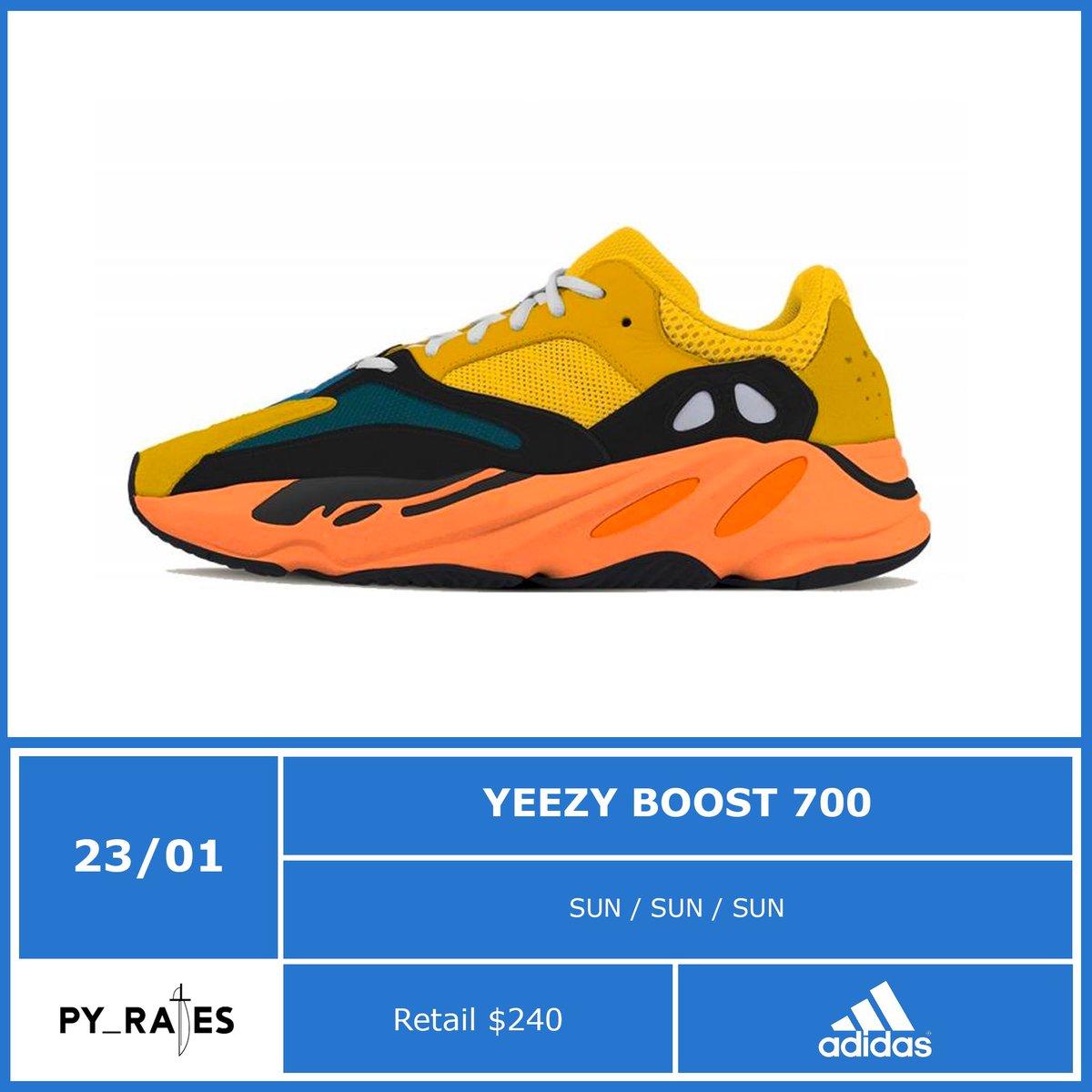Yeezy Boost 700 Sun Release Info