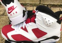 2021 Air Jordan 6 Carmine
