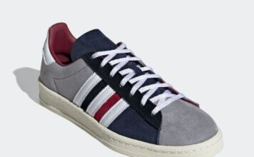 adidas Campus 80s Burgundy Navy FY7152 Release Date Info