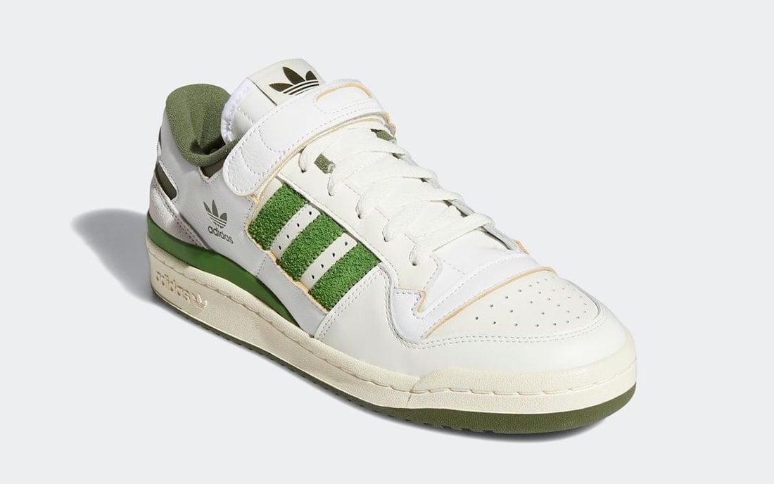 adidas Forum 84 Low Crew Green FY8683 Release Date Info