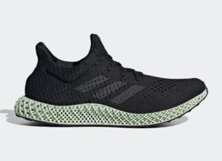 adidas Futurecraft 4D OG Core Black Green FZ2560 Release Date Info