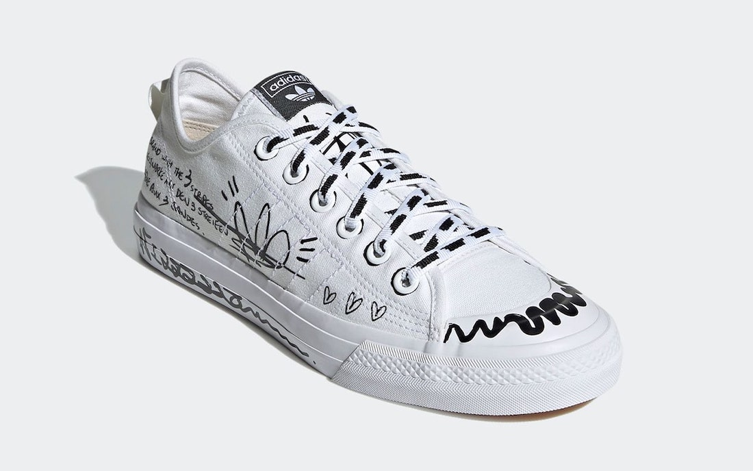 adidas Nizza RF Sharpie Pack GV9798 Release Date Info