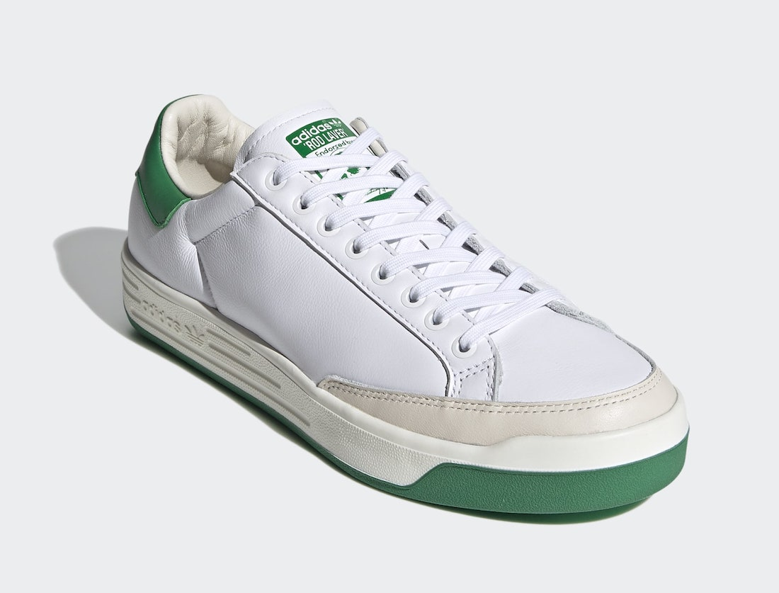 adidas Rod Laver White Green FX5605 Release Date Info