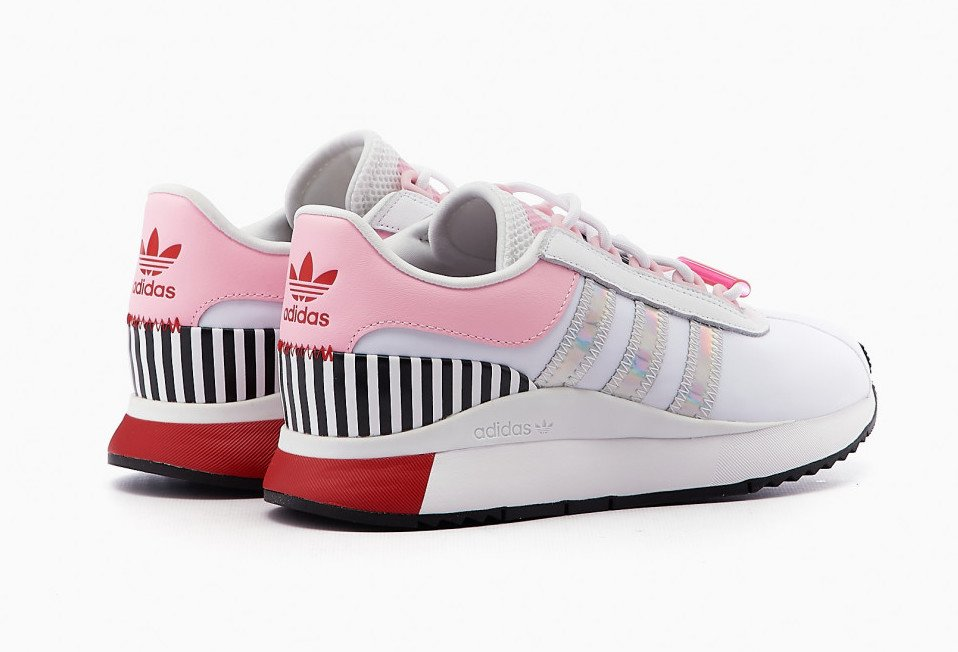 adidas SL Andridge White Pink Red FY5080 Release Date Info