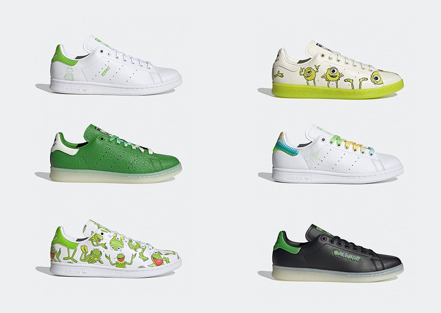 adidas Stan Smith Primegreen Character Pack Release Date Info