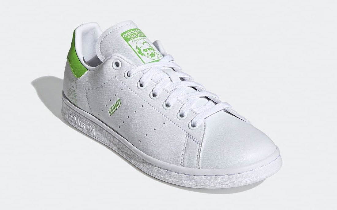 adidas Stan Smith Primegreen Kermit FX5550 Release Date Info