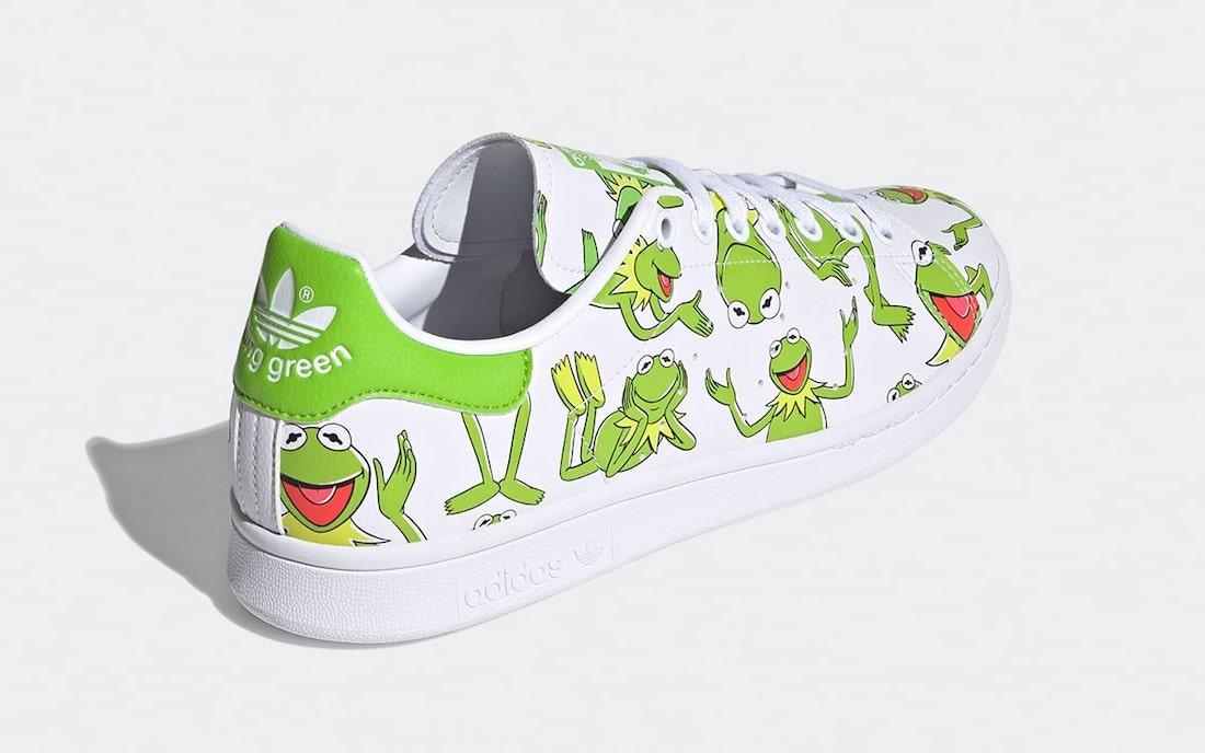 adidas Stan Smith Primegreen Kermit FZ2707 Release Date Info