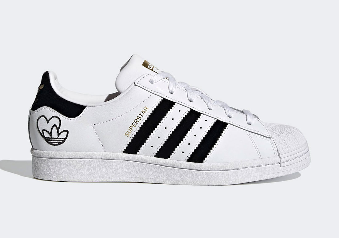 adidas Superstar White Black Gold FY4755 Release Date Info