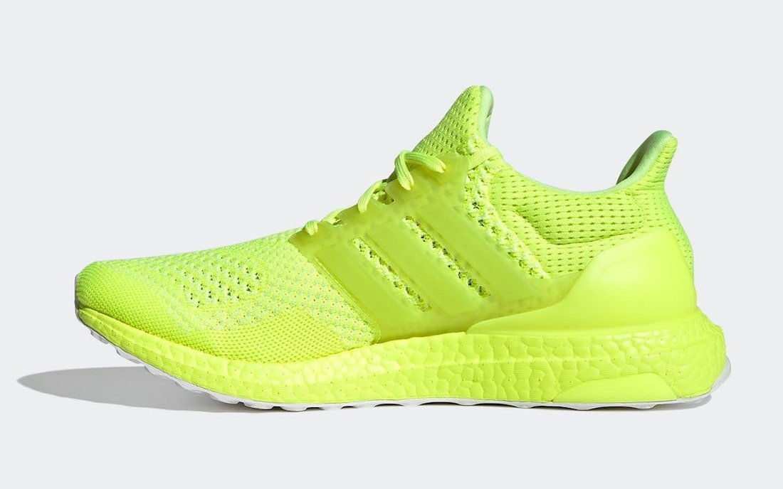 adidas Ultra Boost 1.0 DNA Solar Yellow FX7977 Release Date Info