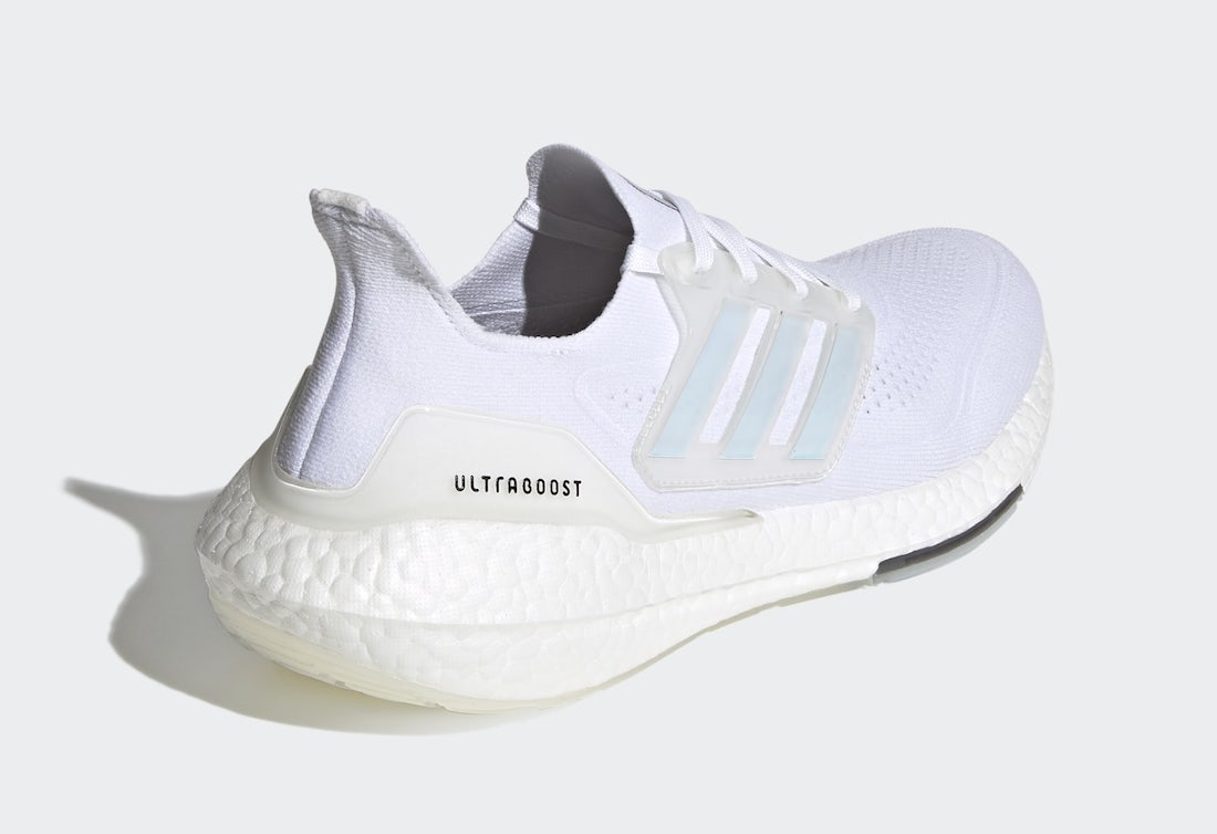 adidas Ultra Boost 2021 Cloud White FY0846 Release Date Info