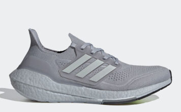 adidas Ultra Boost 2021 Halo Silver Grey FY0432 Release Date Info