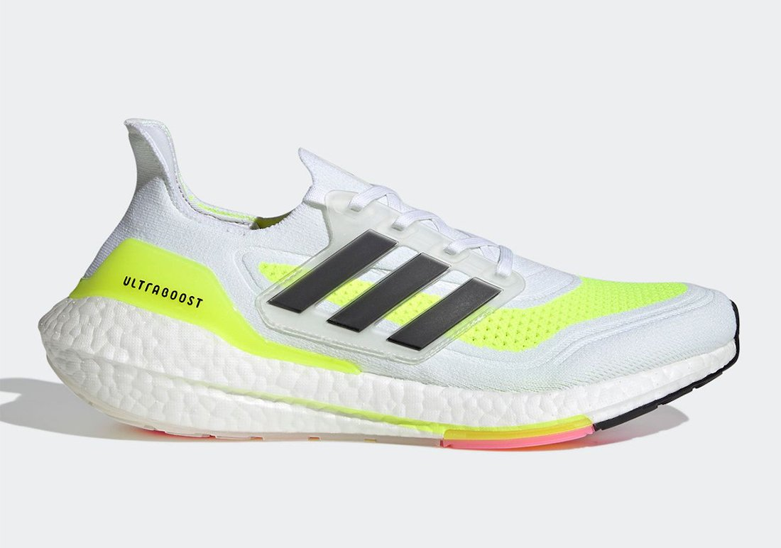 adidas Ultra Boost 2021 Solar Yellow FY0377 Release Date Info