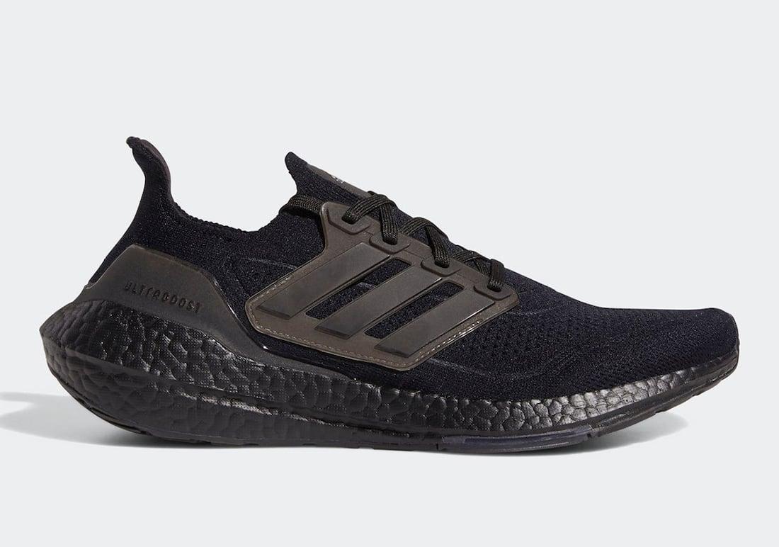 adidas Ultra Boost 2021 Triple Black FY0306 Release Date Info