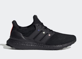 adidas Ultra Boost 4.0 DNA Black Hearts GZ9227 Release Date Info