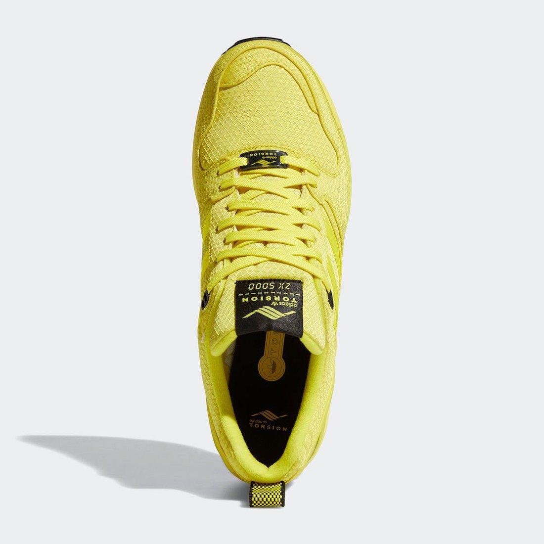 adidas ZX 5000 Bright Yellow FZ4645 Release Date Info