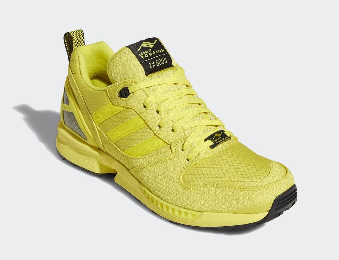 adidas ZX 5000 Bright Yellow FZ4645