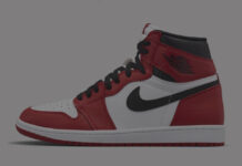 Air Jordan 1 Black White Varsity Red 555088-063 Release Date