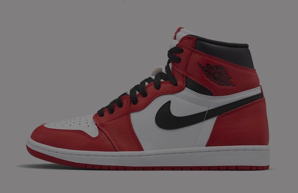 Air Jordan 1 Black White Varsity Red 555088-063 Release Date