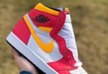 Air Jordan 1 Light Fusion Red
