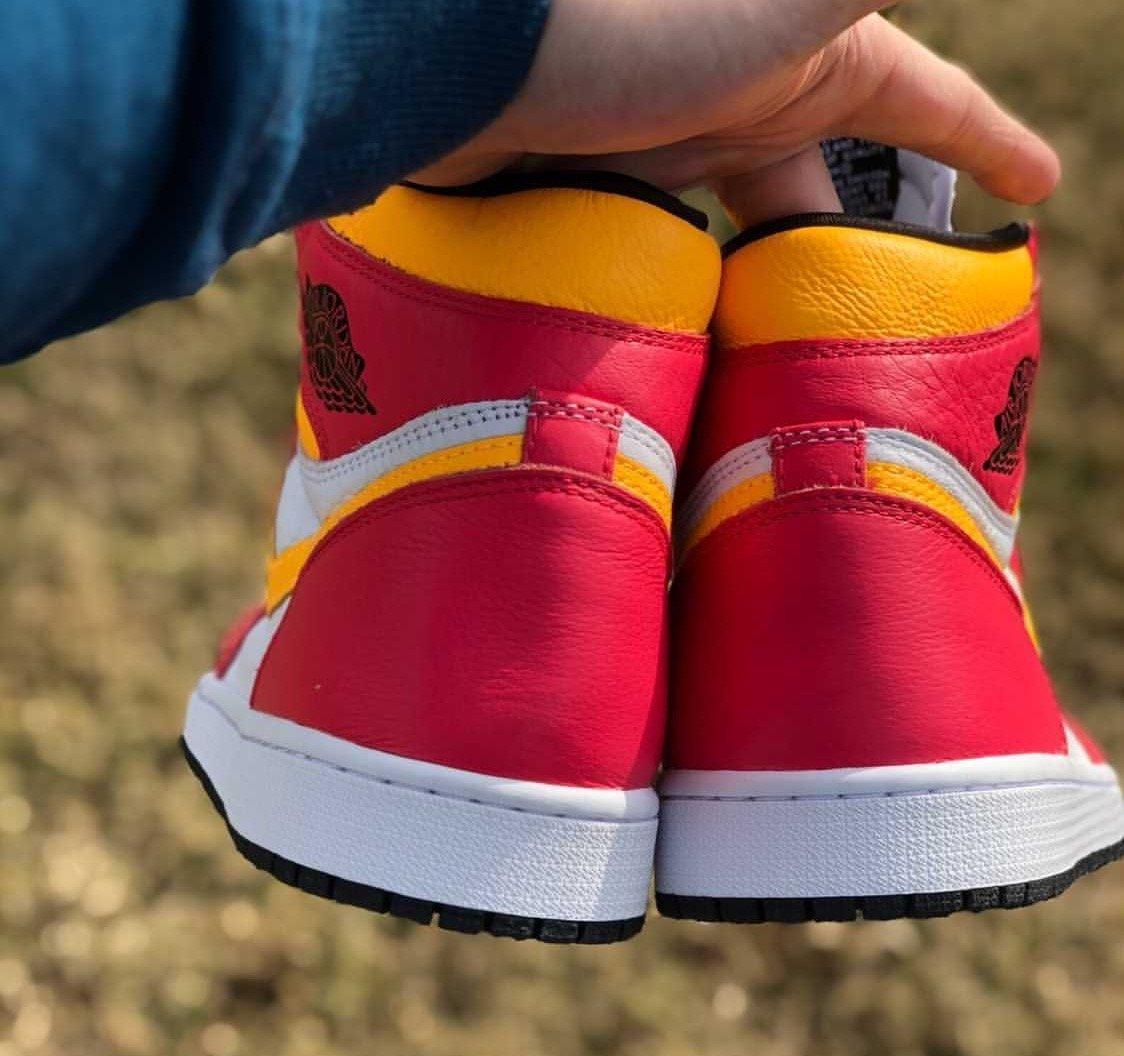 Air Jordan 1 Light Fusion Red Release Date