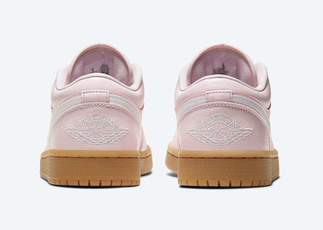 Air Jordan 1 Low Arctic Pink Gum DC0774-601 Release Date Info