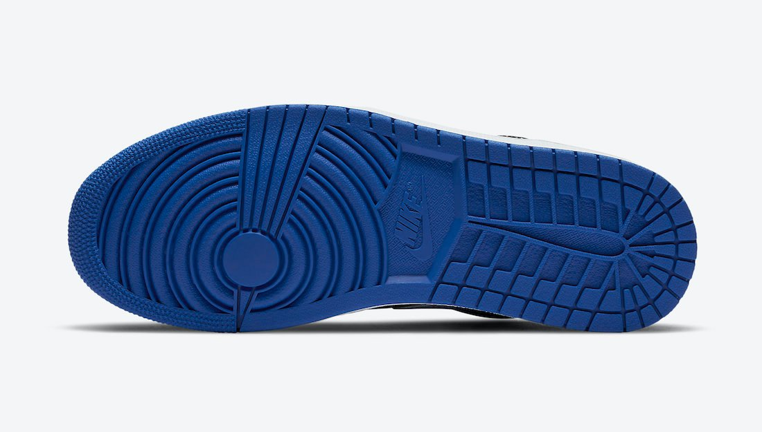 Air Jordan 1 Low Blue Black White DH0206-400 Release Date Info