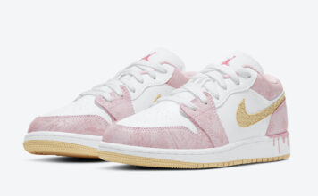 Air Jordan 1 Low GS Ice Cream Drip CW7104-601 Release Date Info