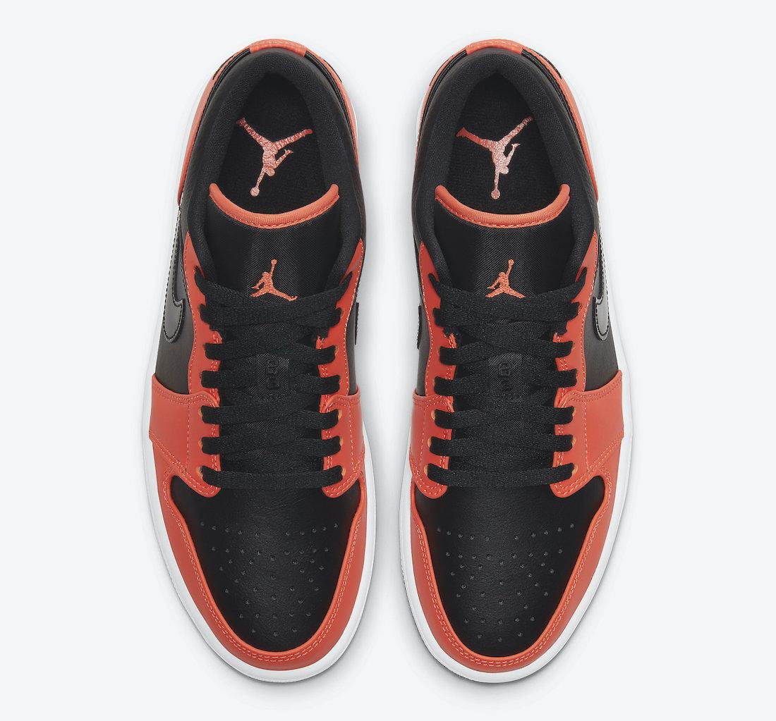 Air Jordan 1 Low SE Black Orange CK3022-008 Release Date Info