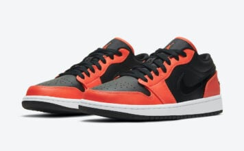 Air Jordan 1 Low SE Black Orange CK3022-008 Release Date Info