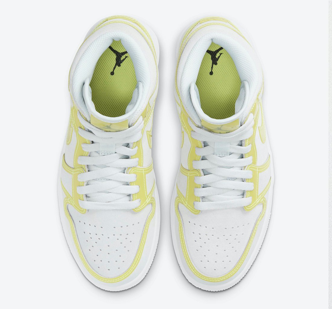 Air Jordan 1 Mid LX Opti Yellow DA5552-107 Release Date Info
