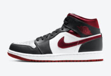 Air Jordan 1 Mid Metallic Red 554724-122 Release Date Info