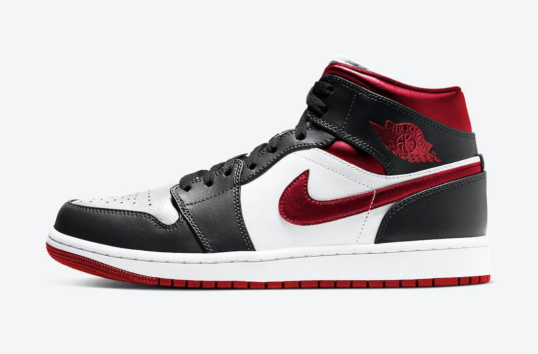 Air Jordan 1 Mid Metallic Red 554724-122 Release Date Info