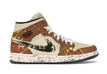 Air Jordan 1 Mid SE Cider Paint Splatter
